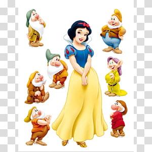Snow White Rapunzel Seven Dwarfs Disney Princess, snow white PNG clipart