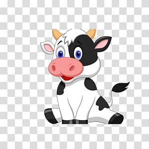 cartoon cow PNG clipart