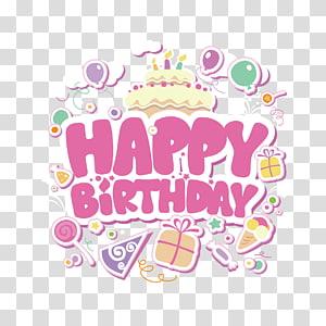 birthday cake illustration with text overlay, Birthday cake Wish, happy Birthday PNG clipart