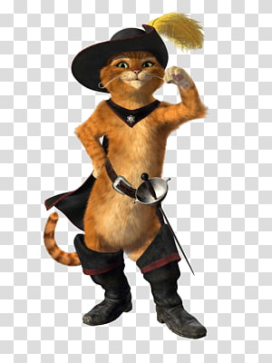 Puss in Boots Princess Fiona Donkey Shrek Film Series DreamWorks Animation, puss in boots PNG