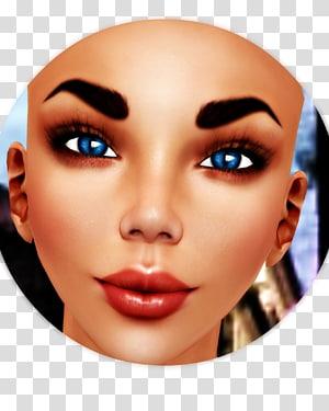 Eyelash Eyebrow Cheek Chin Forehead, nose PNG clipart