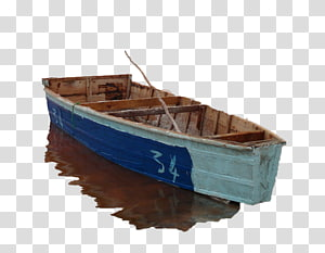 Boat Icon, Blue boat dock PNG clipart
