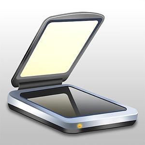 TurboScan iPhone App Store scanner, scanner PNG
