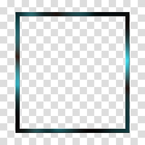squared green frame, Square Text Area frame Pattern, Simple square frame PNG