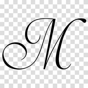 letter M , Black and white Monochrome Line art, letter m PNG