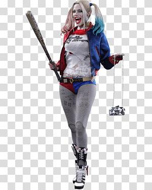 Harley Quinn Joker Batman Action & Toy Figures Hot Toys Limited, margot robbie PNG