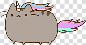 I Am Pusheen the Cat I Am Pusheen the Cat Tenor, unicorn cartoon PNG