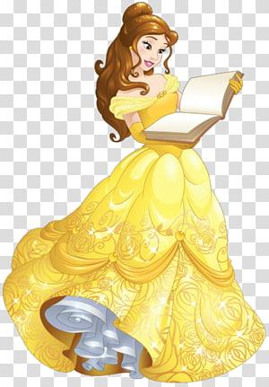 Belle Ariel Beast Princess Aurora Rapunzel, belle PNG clipart