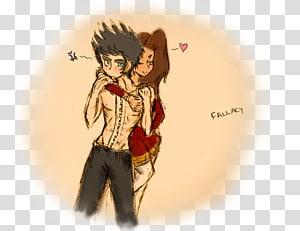 Hug Cartoon Friendship Human hair color, bad girl PNG