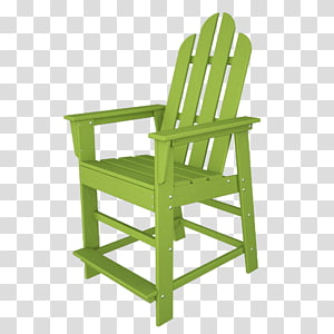 Long Island Table Plastic lumber Adirondack chair, American casual solid color armchair PNG