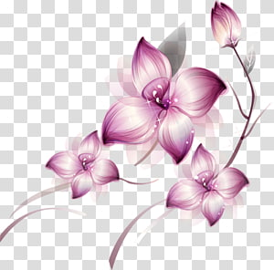 Flower , purple flowers PNG clipart