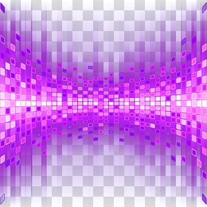 Light Graphic design, Purple particle background light effect, purple and pink pixel PNG clipart