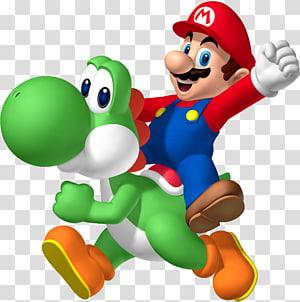 Super Mario illustration, Mario & Yoshi Super Mario Bros. New Super Mario Bros Super Mario World 2: Yoshi\'s Island, Mario PNG