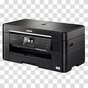 Paper Brother Industries Multi-function printer Inkjet printing, printer PNG