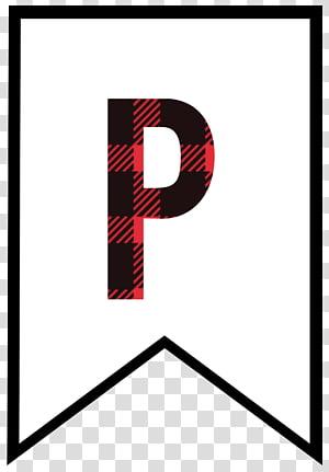 Lettering Paper Alphabet, letter P PNG