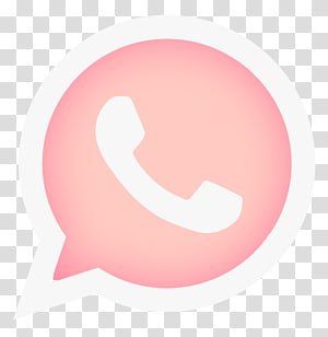 pink telephone logo, WhatsApp Android Thepix Computer Icons, 14th PNG clipart