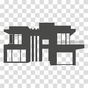 House Silhouette Computer Icons, building silhouette PNG