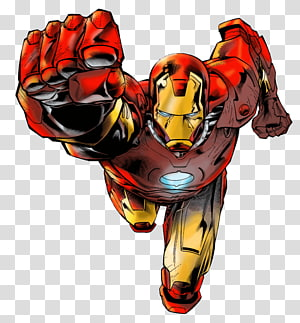 Iron Man Miles Morales Howard Stark Maria Stark Comics, Iron Man PNG clipart