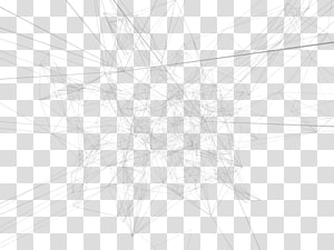 White Symmetry Structure Sketch, Technological sense of geometric lines PNG clipart