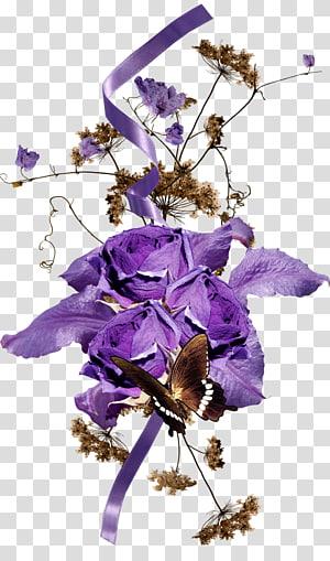 Flower Lavender Encapsulated PostScript, flower PNG