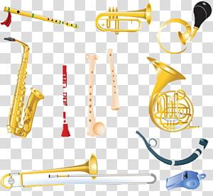 Brass instrument Woodwind instrument Musical instrument, Musical Instruments PNG