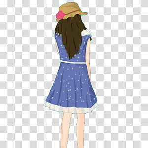 Shoulder Software, A girl with a hat PNG clipart
