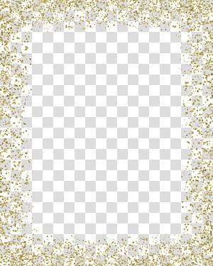 gold color border PNG