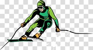 Freeskiing , ski PNG