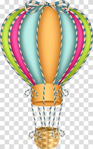 Hot air ballooning , balloon PNG clipart