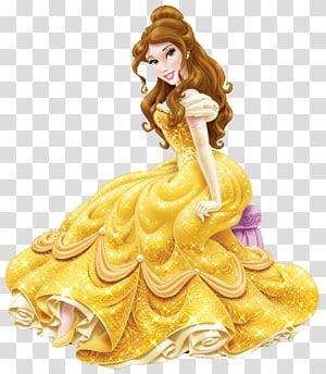 Belle Cinderella Rapunzel Disney Princess Palace Pets, huaxia moon beauty PNG clipart