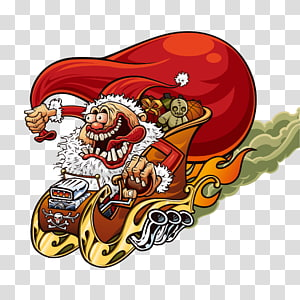 funny santa claus PNG clipart