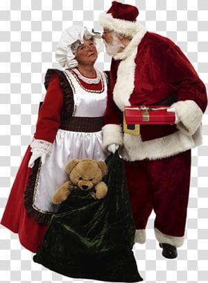 Santa Claus Mrs. Claus Christmas ornament Mother, santa claus PNG