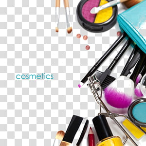 assorted-color cosmetic product lot, Cosmetics Make-up artist Makeup brush Beauty Eyebrow, US cosmetics collection PNG clipart