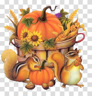 Happy Fall Autumn Animation , the autumn harvest PNG clipart