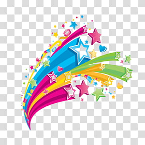 Color Star , Background music PNG clipart