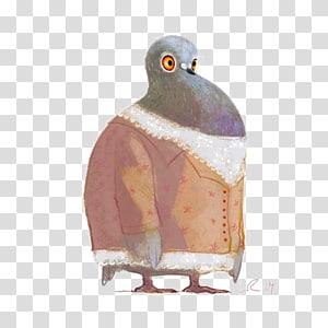 Columbidae Illustrator Drawing Illustration, pigeon PNG