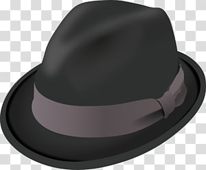 Fedora Trilby Hat , Hat PNG clipart