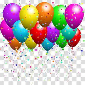 Birthday Balloon Party Greeting & Note Cards , Birthday PNG clipart