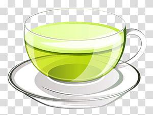 Green tea Coffee Teacup, tea PNG