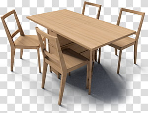 Gateleg table Furniture Chair Wood, dining table PNG
