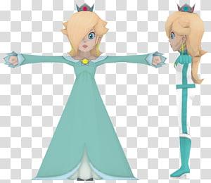 Rosalina Mario Character Figurine, mario PNG clipart