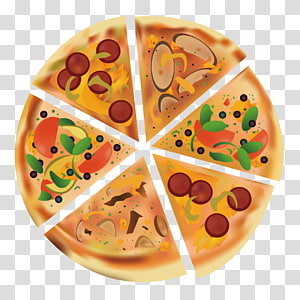 Hot dog Pizza Vegetarian cuisine Fast food Pita, Delicious Pizza PNG clipart