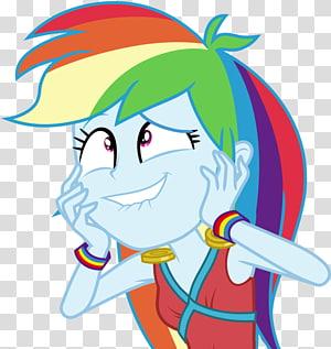 Rainbow Dash My Little Pony: Equestria Girls Applejack, My little pony PNG clipart