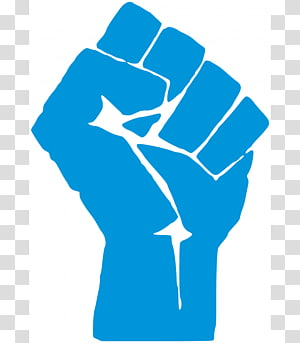 Raised fist Black Power Black Panther Party African American , others PNG