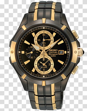 Astron Seiko Automatic quartz Watch Jewellery, diamond bezel PNG