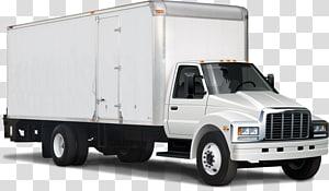 Van Car Box truck Pickup truck, pickup van PNG