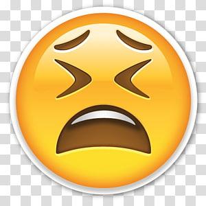 emoticon illustration, Emoticon Oh No PNG clipart