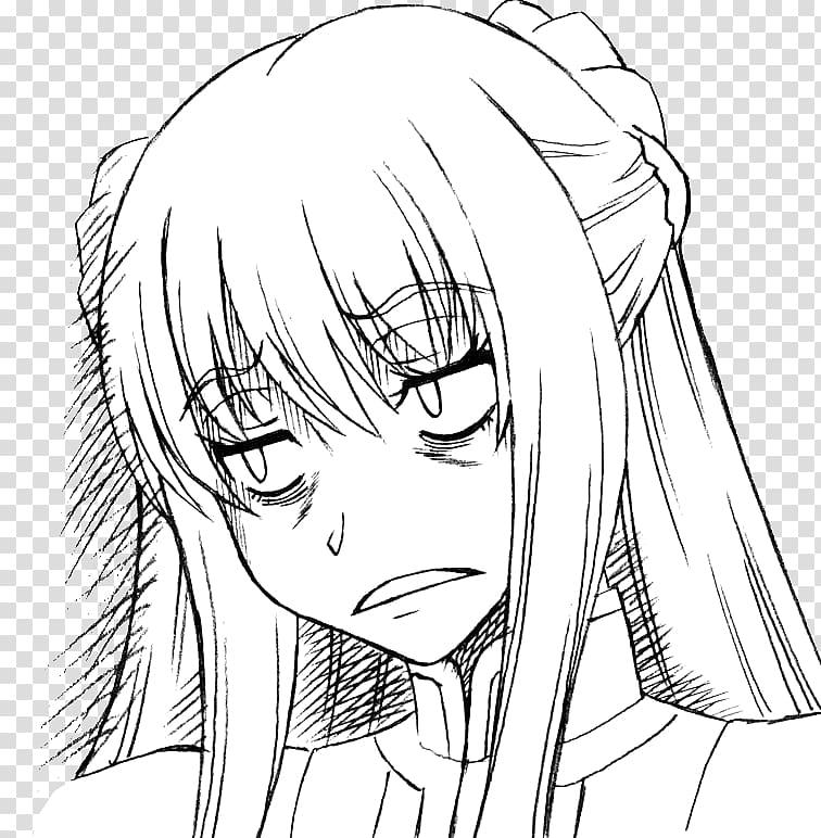 Anime 4chan Mangaka Line art, Anime PNG