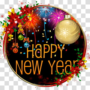 New Year\'s Day New Year\'s Eve Happy New Year, 2018 Happy New Year 2018, others PNG clipart