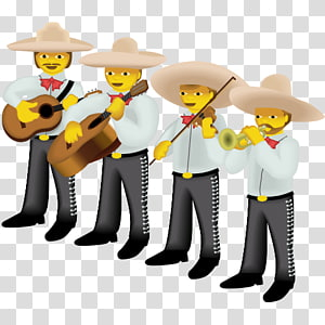 Emoji Mariachi Sticker Cartoon, Emoji PNG clipart